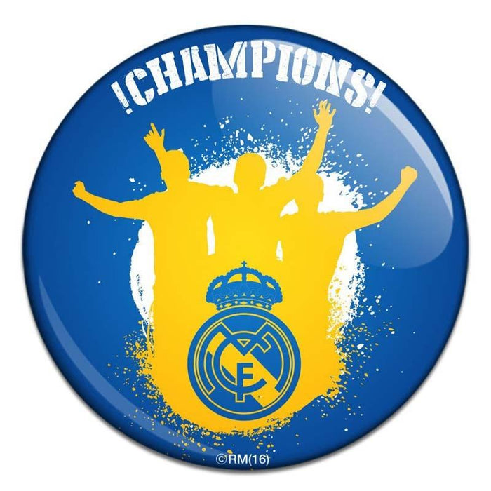 Real Madrid Cf Button Badge Chm