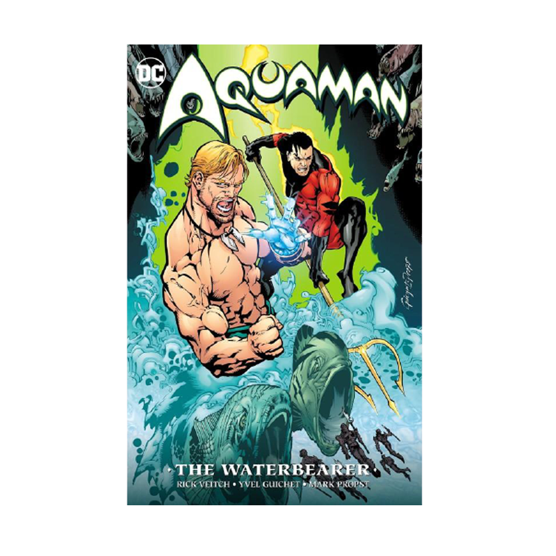 Aquaman The Waterbearer New Edition Paperback - www.entertainmentstore.in