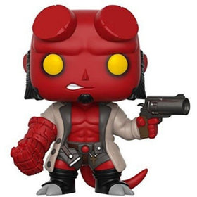 Hellboy With Jacket Pop Figure