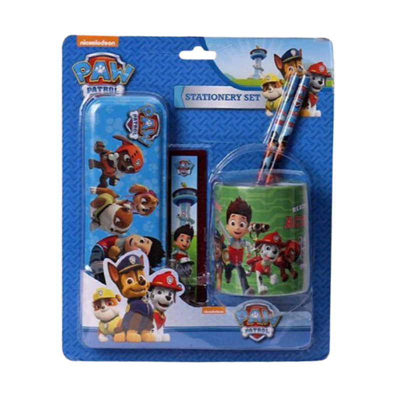 Paw Patrol Stationery Set  - www.entertainmentstore.in