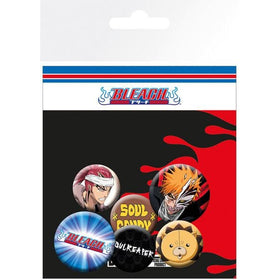 Bleach Mix Badge Pack