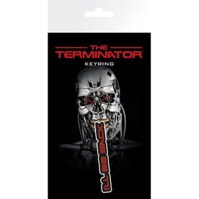The Terminator Ill Be Back Rubber Keychain