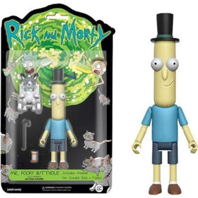 Rick And Morty Mr. Poopy Butththole 5 Inch Action Figure