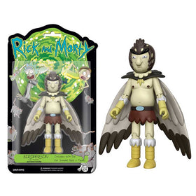 Rick And Motry Bird Person 5 Inch Action Figure