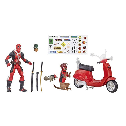 Deadpool Corps With Scooter Marel Legends Series Action Figure - www.entertainmentstore.in