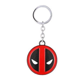 Deadpool Face Keychain - www.entertainmentstore.in