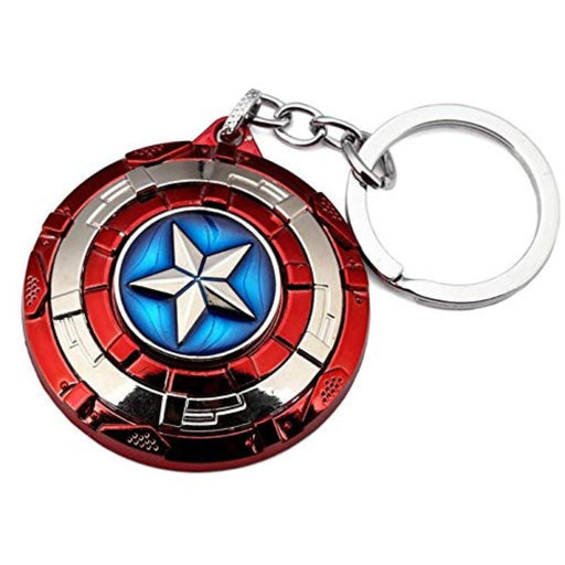 Captain America Shield Rotating Keychain - www.entertainmentstore.in