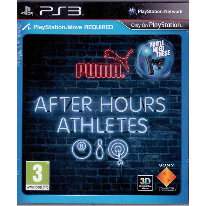 After Hours Athletes PS3 Game