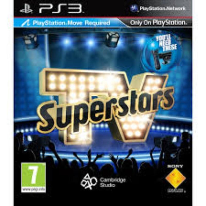 TV Superstars PS3 Game