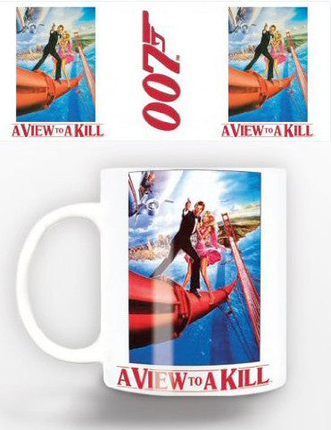 Bond A View To Kill Mug