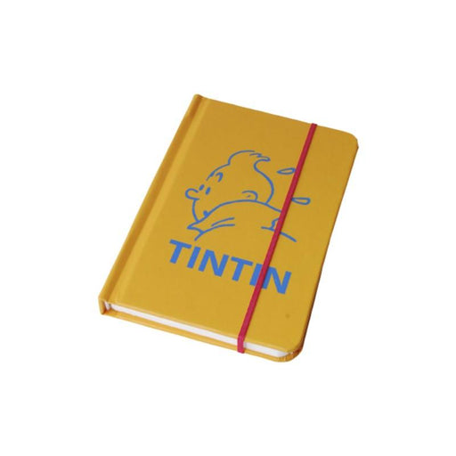 Tintin Yellow Notebook