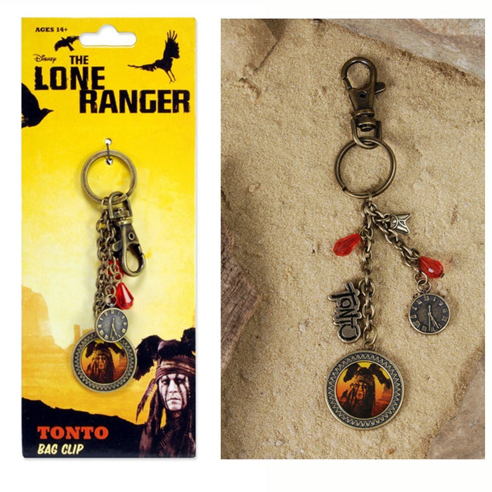 The Lone Ranger Bag Clip Keychain