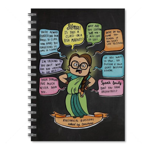 Teacher Rhetorical Questions Notebook
