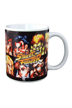 Street Fighter Mug Screen Select