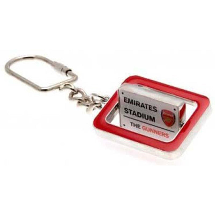 Arsenal F.C.Spinner Keyring
