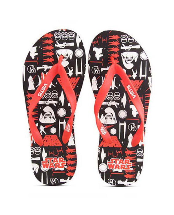 Star Wars (1477) Black And Red Slipper