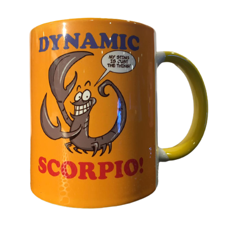 Dynamic Scorpio Mug - www.entertainmentstore.in
