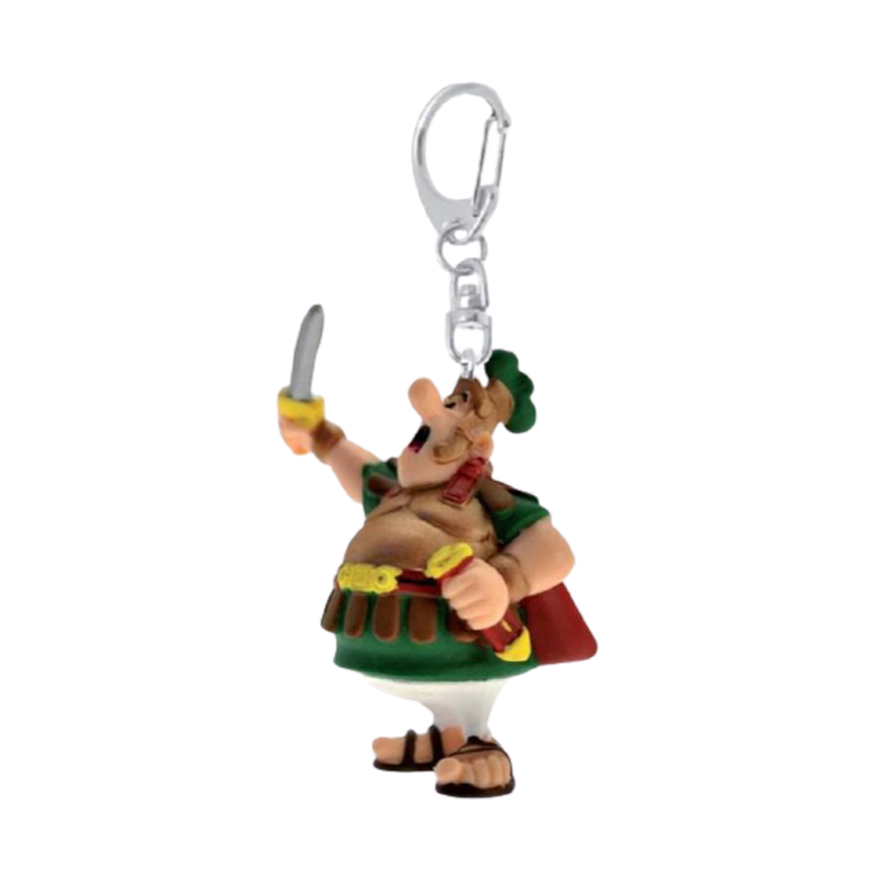 Asterix Centurion With His Sword Keychain - www.entertainmentstore.in
