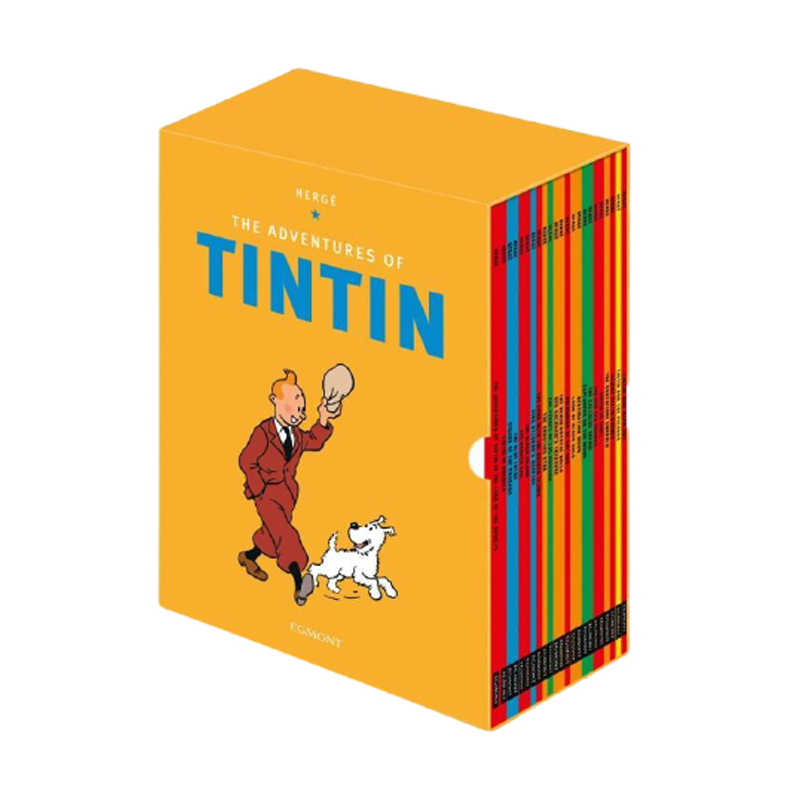 Tintin Paperback Boxed Set 23 titles Paperback - www.entertainmentstore.in