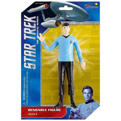 Star Trek Spock Bendable Figure - www.entertainmentstore.in