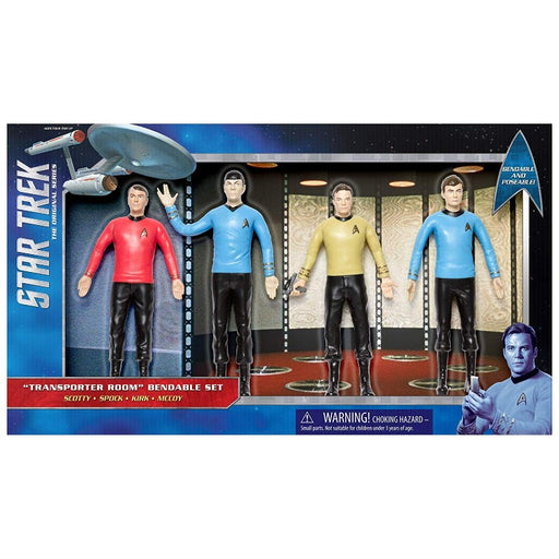 Star Trek TOS Transporter RoomBoxed Bendable Set - www.entertainmentstore.in