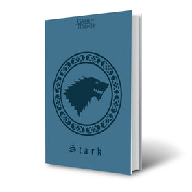 Game of Thrones House Stark Blue Notebook