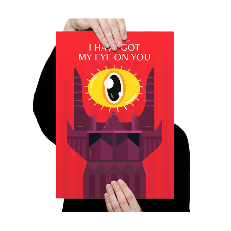 The Eye On You Poster - www.entertainmentstore.in