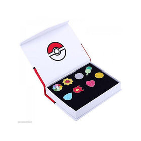 Pokemon Inspired Gym Badge Set