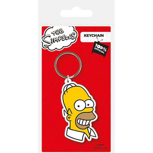 The Simpsons Homer Rubber Keychain