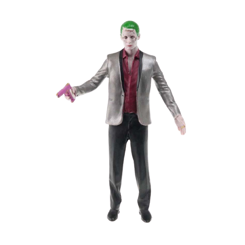 Suicide Squad The Joker Bendable Action Figure - www.entertainmentstore.in