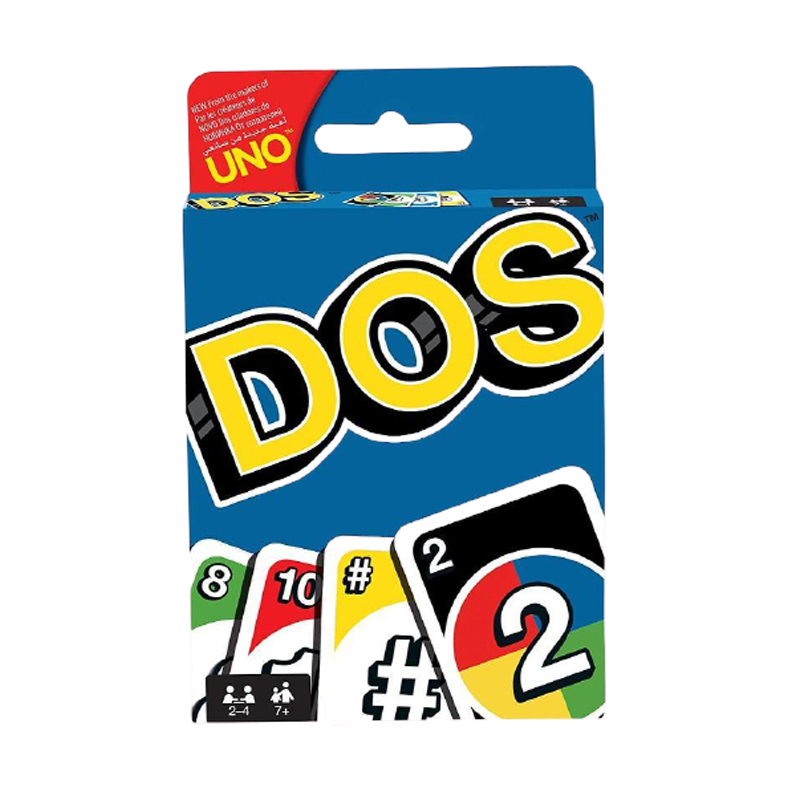 DOS UNO Card Game - www.entertainmentstore.in