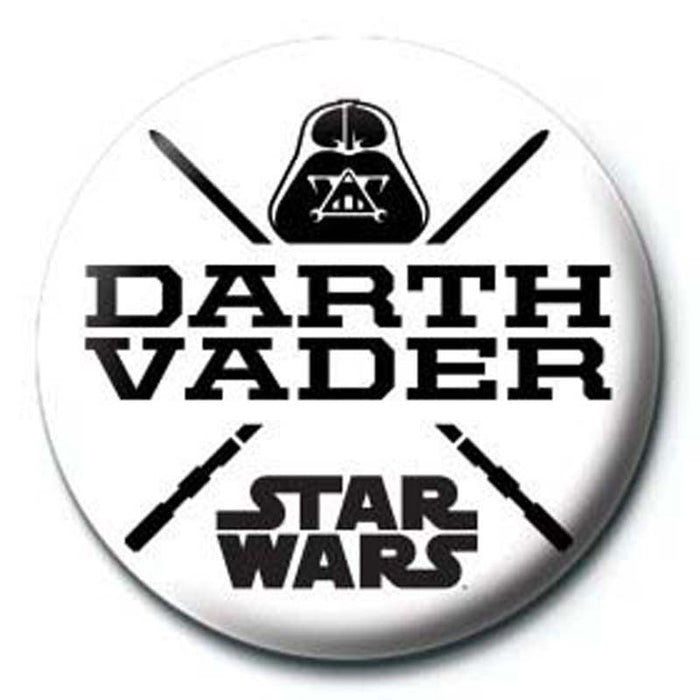 Star Wars Darth Vader Button Badge