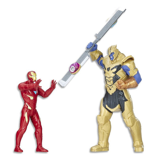 Avengers Ironman Vs Thanos Battle Set Figures