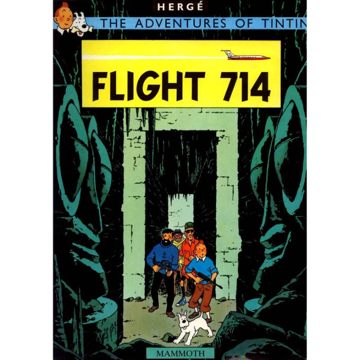 Tintin Flight 714 For Sydney Postcard