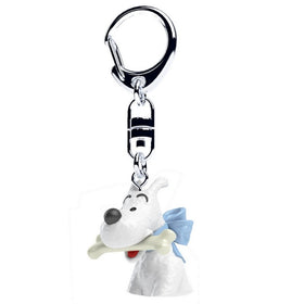 Tintin Snowy With His Bone Keyring