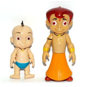 Chhota Bheem and Raju Action Figure 2 in 1 Pack