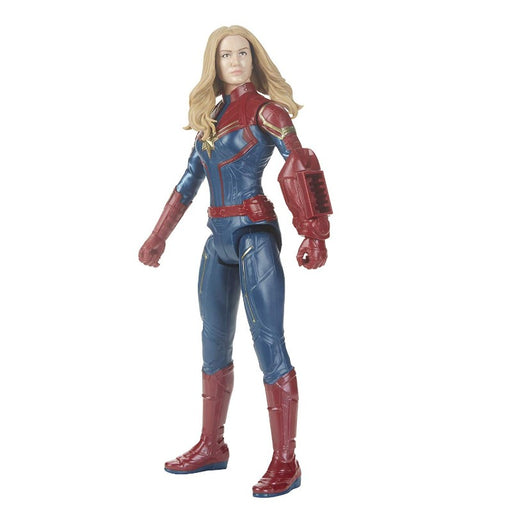 Avengers Marvel Endgame Captain Marvel Titan Hero Power FX Figure - www.entertainmentstore.in