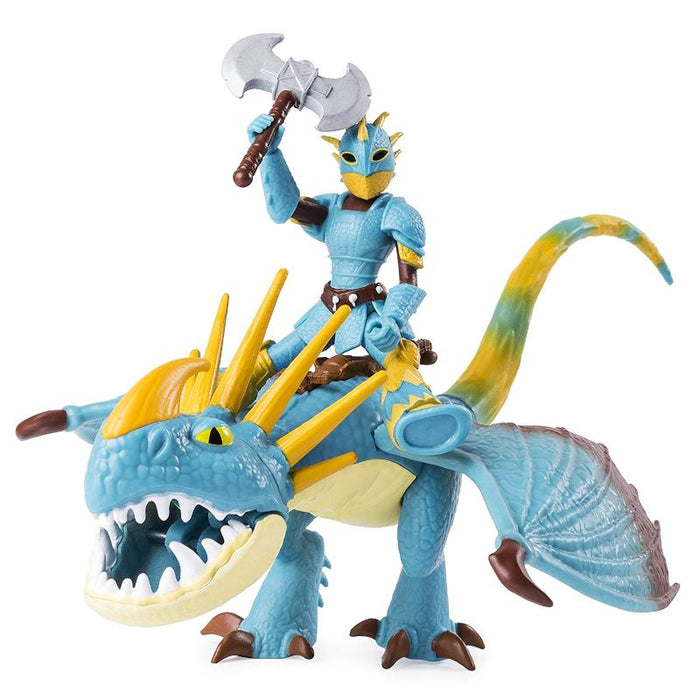 How To Train Your Dragon Astrid And Stormfly Figure
