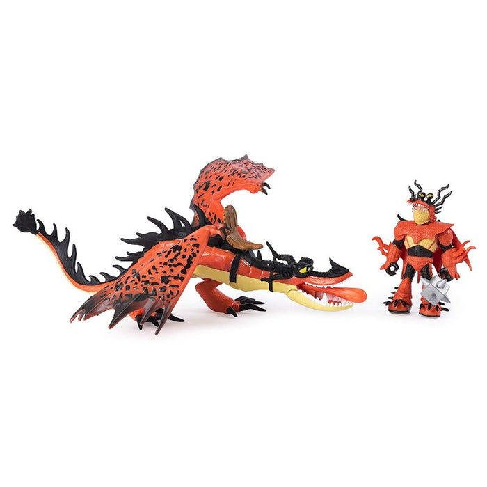How To Train Your Dragon Grimmel And Deathgripper Dragon Figure