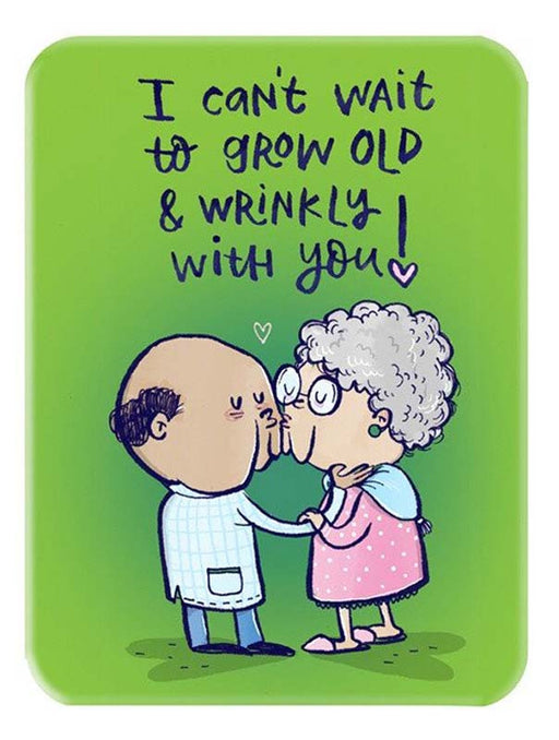 Wrinkly Love Magnet