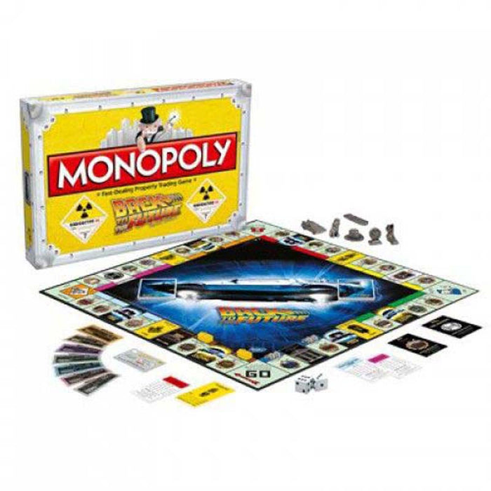 Back to the Future Board Game Monopoly English Version