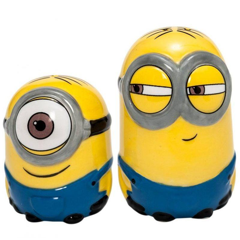 Despicable Me Minions Salt and Pepper Pots - www.entertainmentstore.in