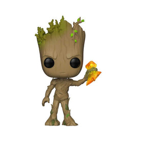 Avengers Infinity War Groot With Storm Breaker Pop Bobble Head