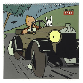 Tintin Land of the Soviets Calendar