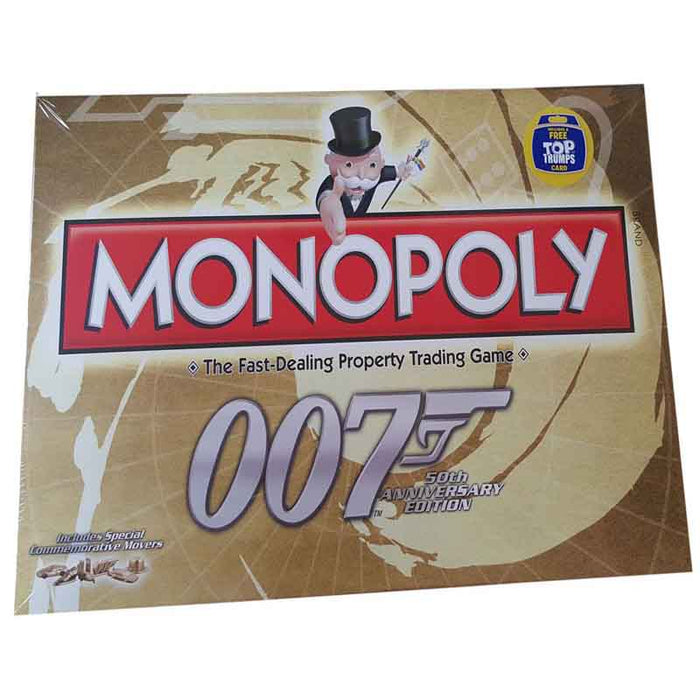 James Bond 50th Anniversary Monopoly Board Game