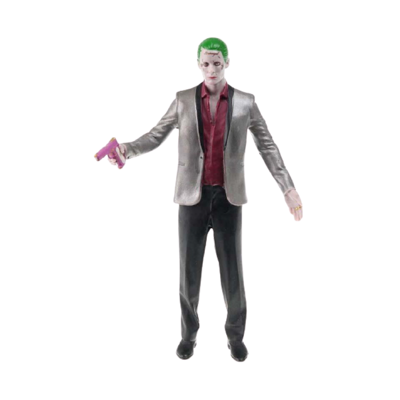 Suicide Squad The Joker Bendable Figure - www.entertainmentstore.in
