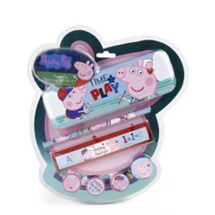 Peppa Pig Stationery Kit Set of 7 Pieces