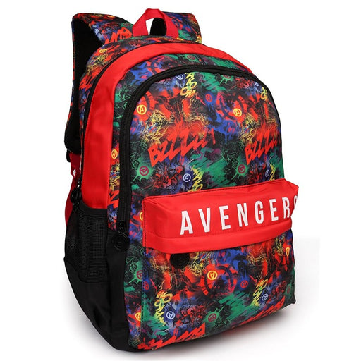Avengers Multi Print School Backpack
