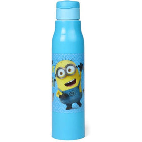 Minion All In Favour Blue Water Bottle