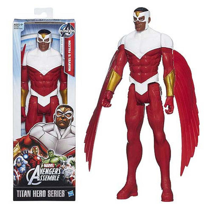 Marvel Avengers Titan Hero Series Falcon Action Figure